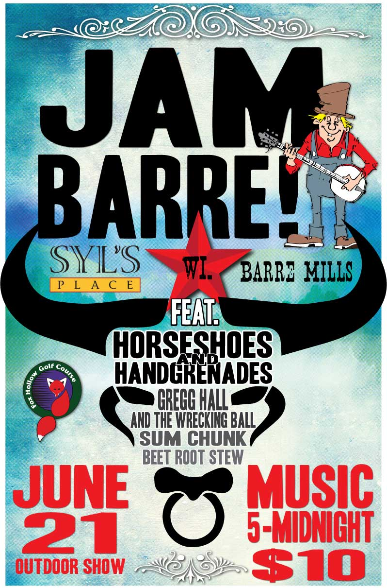 Jam Barre! June 21, 2014 - Barre Mills, WI