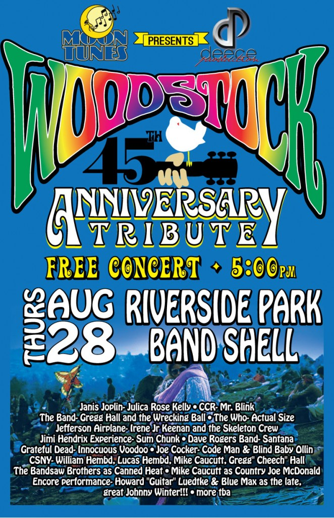 Woodstock 45th Anniversary Tribute